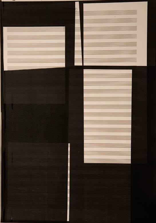 Sebastiane hegarty: Xerox score #2