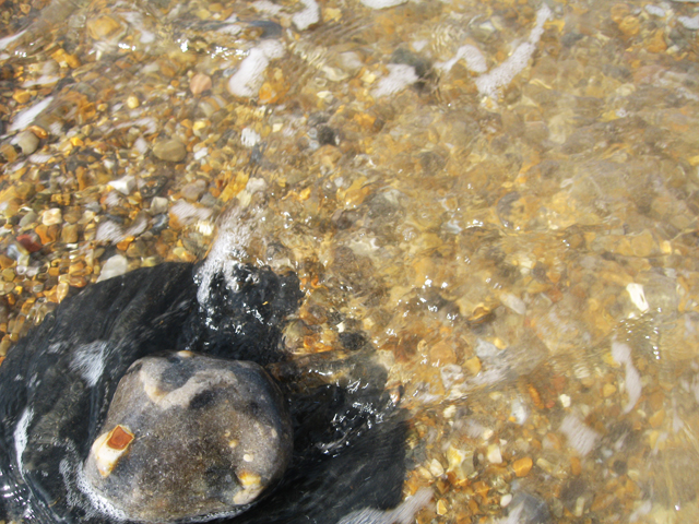 vinyl tide at Cley submerged: sebastiane hegarty
