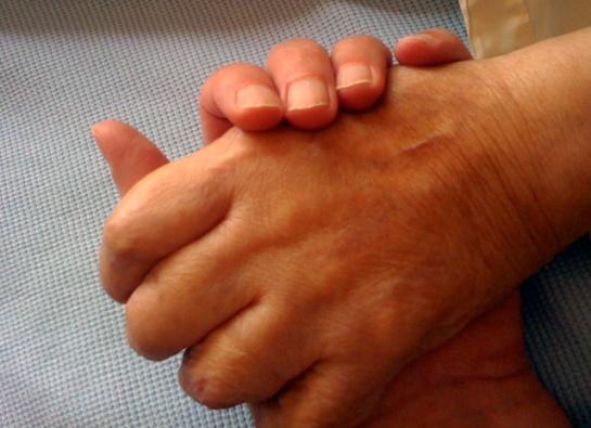 mams hand