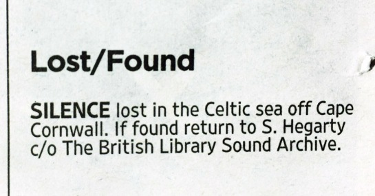The Times: Lost/Found